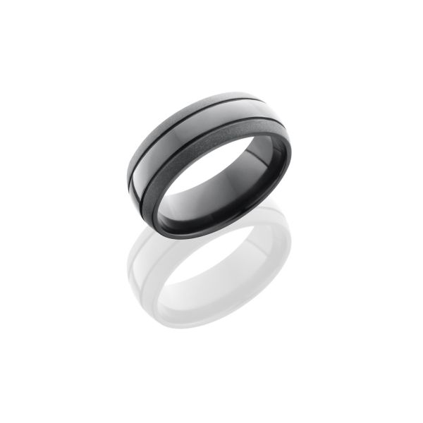 Ceramic, Zirconium Wedding Bands Orin Jewelers Northville, MI