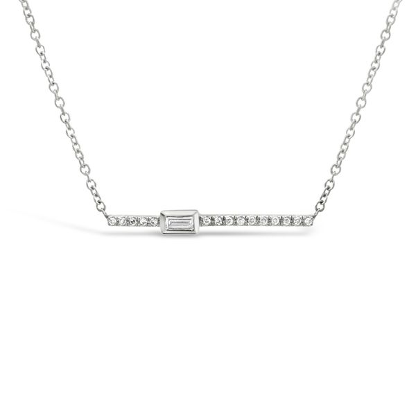 14KT White Gold Fashion Diamond Necklace Padis Jewelry San Francisco, CA