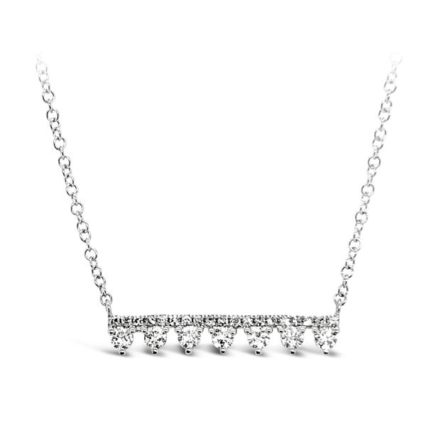 14K White Gold Fashion Diamond Necklace Padis Jewelry San Francisco, CA