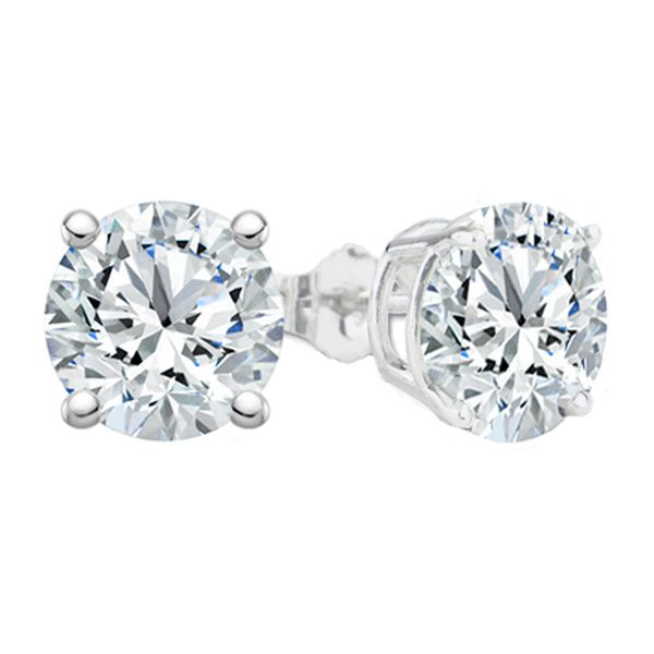 2.04 Cttw. 14KW Diamond Earrings Padis Jewelry San Francisco, CA