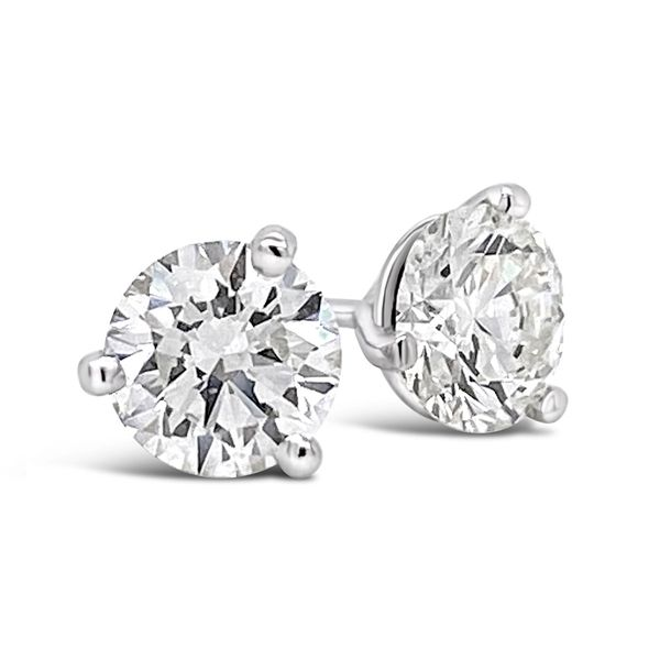 1.41 Cttw. 14KW Diamond Earrings Padis Jewelry San Francisco, CA