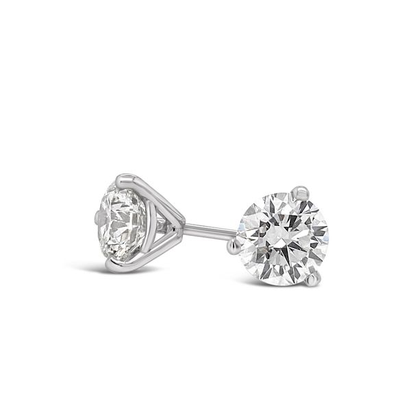 0.65 Cttw. 14KW Diamond Earrings Padis Jewelry San Francisco, CA
