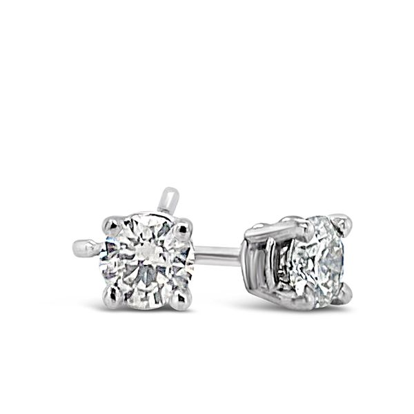 0.50 Cttw. 14KW Diamond Earrings Padis Jewelry San Francisco, CA