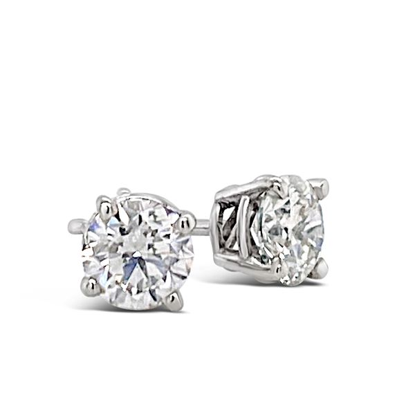 1.40 Cttw. 14KW Diamond Earrings Padis Jewelry San Francisco, CA