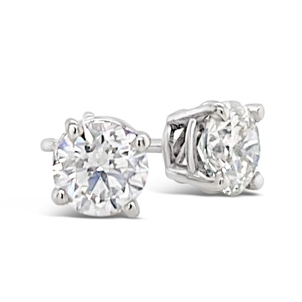 2.05 Cttw. 18KW Diamond Earrings Padis Jewelry San Francisco, CA