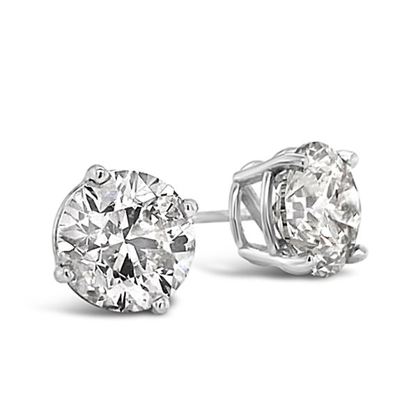 2.01 Cttw. 18KW Diamond Earrings Padis Jewelry San Francisco, CA
