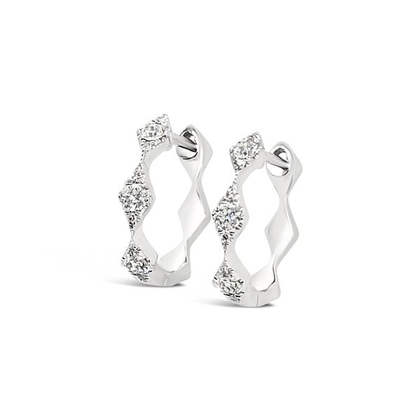 Ladies' Diamond Fashion Hoop Earrings Padis Jewelry San Francisco, CA