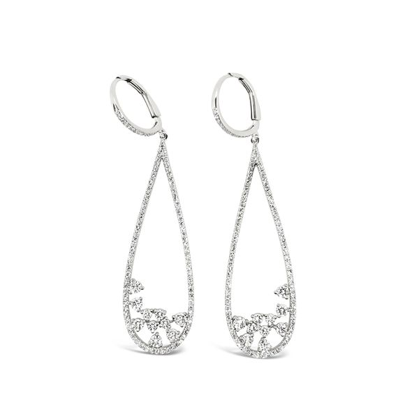 Ladies' 14Kt Diamond Fashion Earrings Padis Jewelry San Francisco, CA