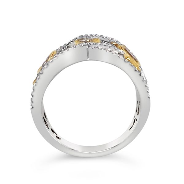 Yellow Diamond Fashion Band Image 2 Padis Jewelry San Francisco, CA
