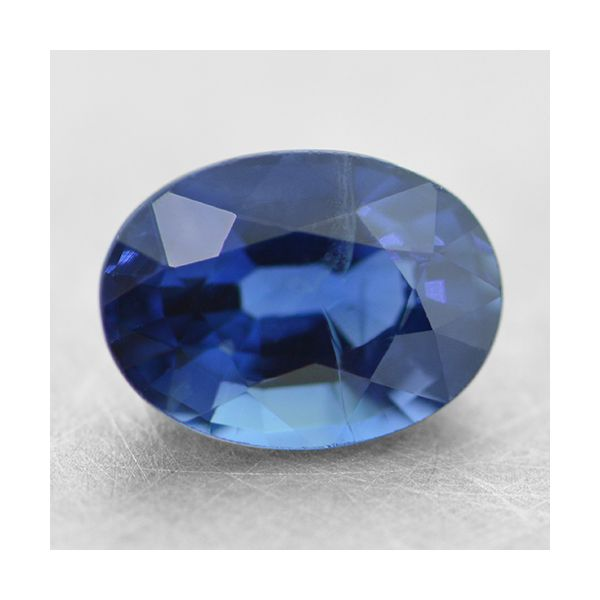 8x6mm Oval Blue Sapphire Padis Jewelry San Francisco, CA