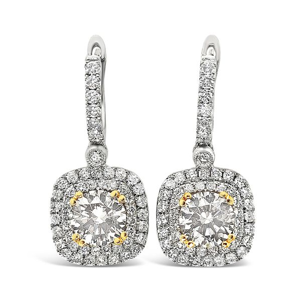 Fancy Brown Diamond Earrings Padis Jewelry San Francisco, CA
