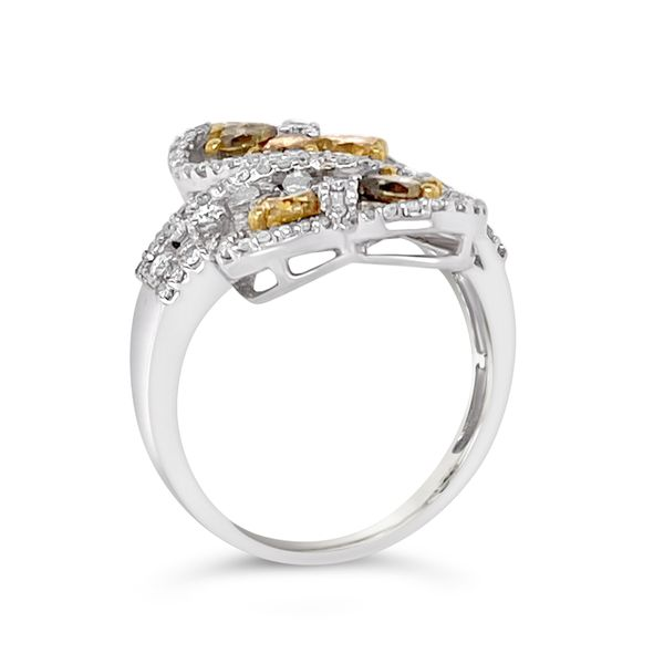 Fancy Color Diamond Fashion Ring Image 2 Padis Jewelry San Francisco, CA