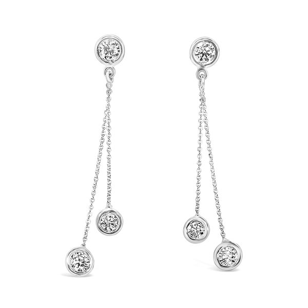 Forevermark Diamond Dangle Earrings Padis Jewelry San Francisco, CA