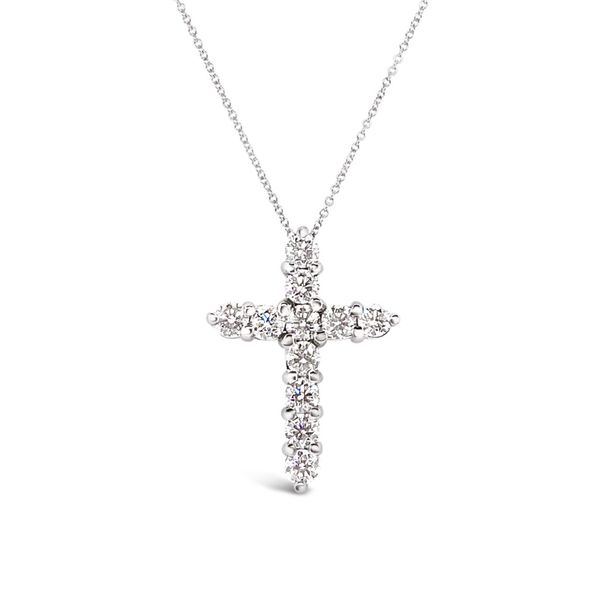 Ladies' Forevermark Diamond Cross Padis Jewelry San Francisco, CA