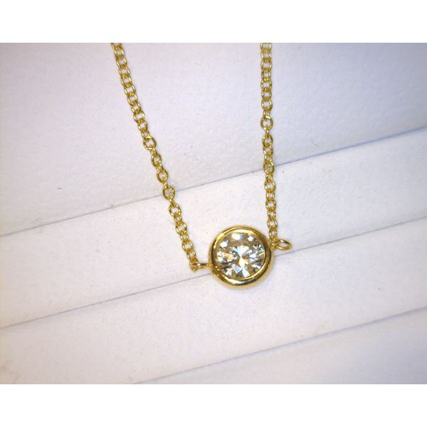 Ladies' Forevermark Diamond Solitaire Pendant Padis Jewelry San Francisco, CA