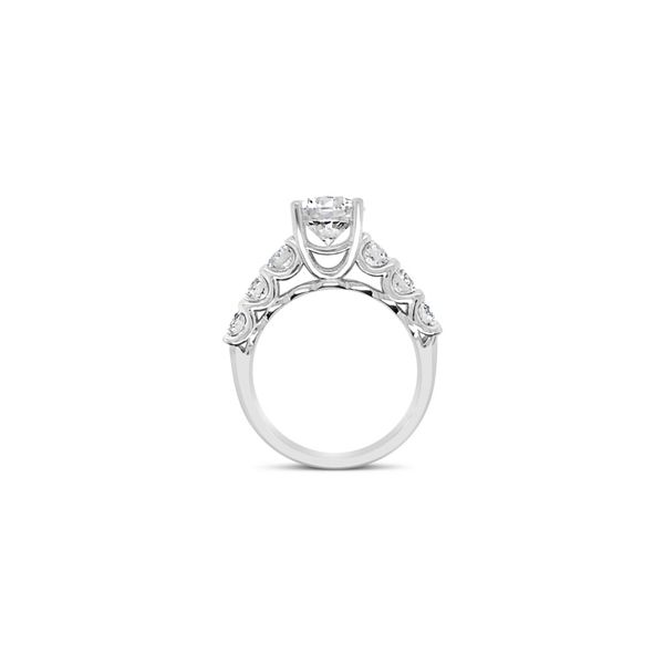Forevermark Diamond Engagement Ring Image 2 Padis Jewelry San Francisco, CA