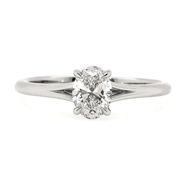 Forevermark Solitaire Engagement Ring Padis Jewelry San Francisco, CA