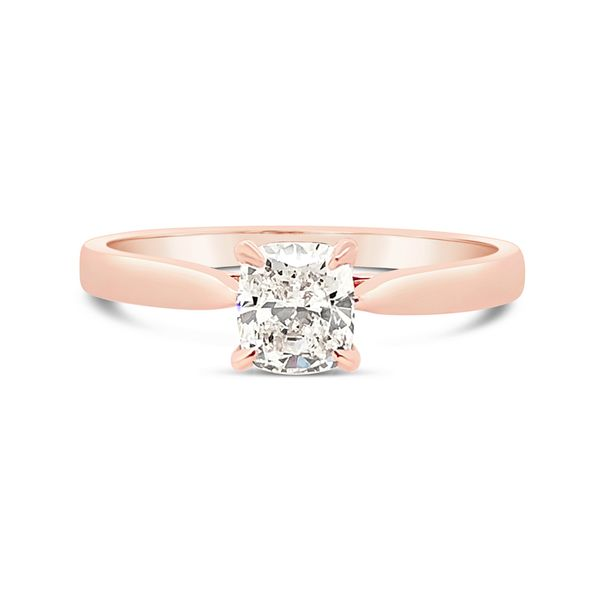0,57 Carat Forevermark Diamond Solitaire Engagement Ring in Rose Gold Padis Jewelry San Francisco, CA