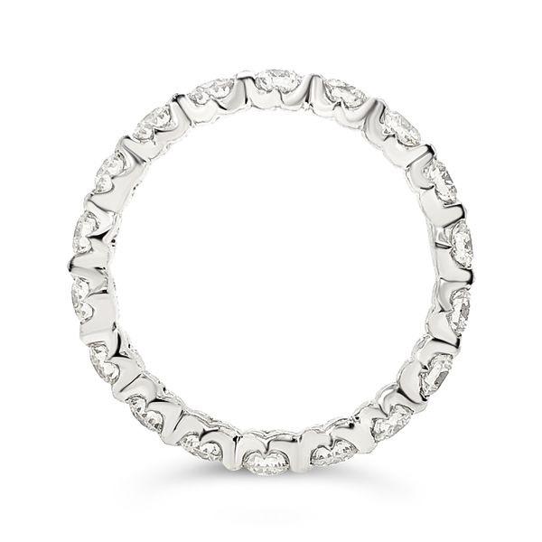 Forevermark Diamond Eternity Band Image 2 Padis Jewelry San Francisco, CA