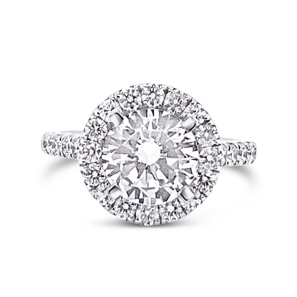 Forevermark Halo Engagement Ring Padis Jewelry San Francisco, CA