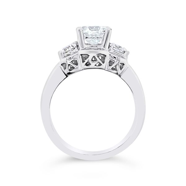 Forevermark Three-Stone Engagement Ring Image 2 Padis Jewelry San Francisco, CA