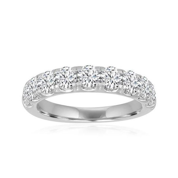 Ladies' Forevermark 9-Diamond Wedding Band Padis Jewelry San Francisco, CA