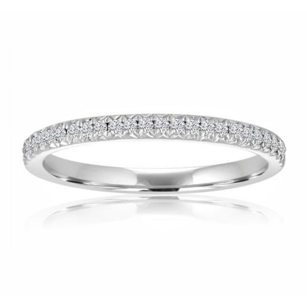 Ladies' Pave' Forevermark Diamond Wedding Band Padis Jewelry San Francisco, CA