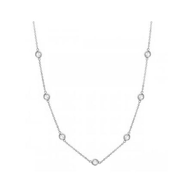 Forevermark 20 Inch Diamonds By The Yard Necklace Padis Jewelry San Francisco, CA