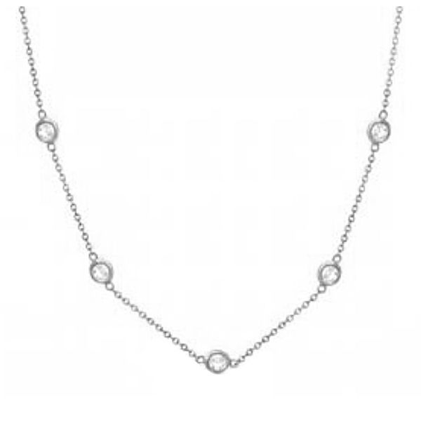 Forevermark 18 Inch Diamonds By The Yard Necklace Padis Jewelry San Francisco, CA