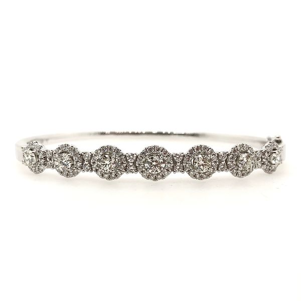 Forevermark Diamond Bangle Bracelet Padis Jewelry San Francisco, CA