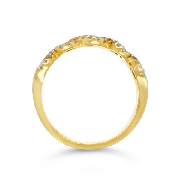 Ladies' Diamond Stackable Ring Image 2 Padis Jewelry San Francisco, CA
