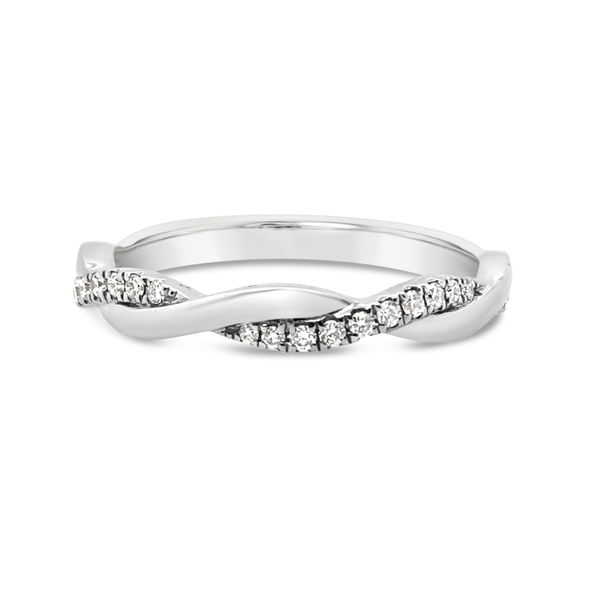 Ladies' 18K White Gold Stackable Ring Padis Jewelry San Francisco, CA