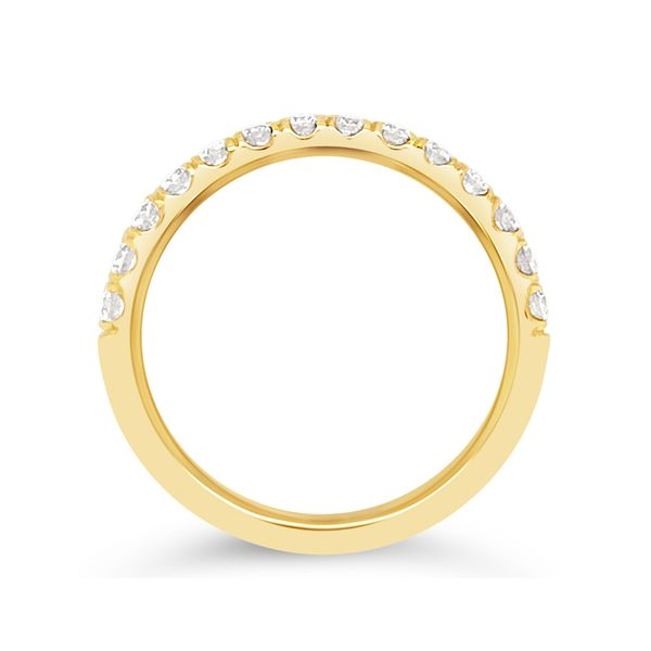 14KT Yellow Gold Diamond Anniversary Band Image 2 Padis Jewelry San Francisco, CA