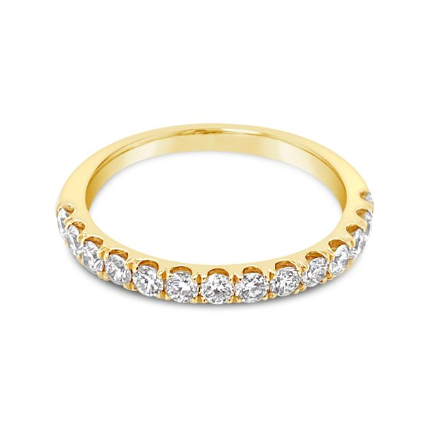 14KT Yellow Gold Diamond Anniversary Band Padis Jewelry San Francisco, CA
