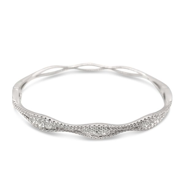 Diamond Bangle Bracelet Padis Jewelry San Francisco, CA