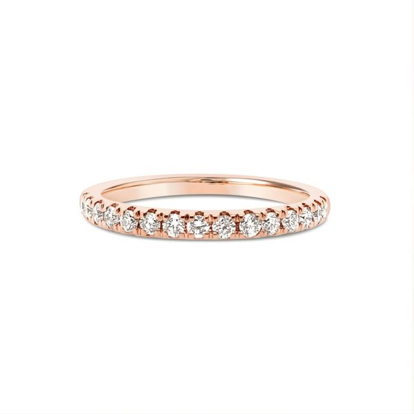 14KT Rose Gold Diamond Wedding Ring Padis Jewelry San Francisco, CA