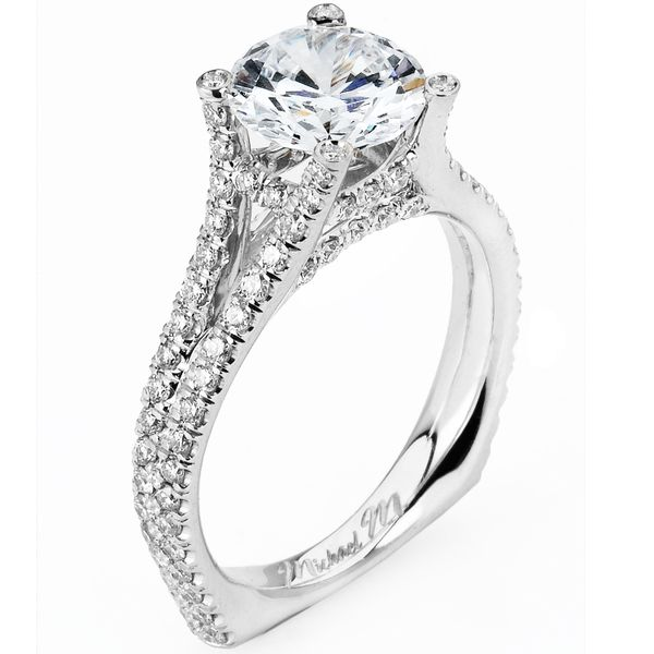 Michael M. Platinum Diamond Ring Padis Jewelry San Francisco, CA
