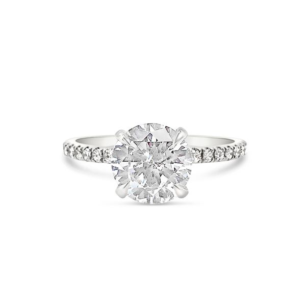 18KT White Gold Diamond Engagement Ring Padis Jewelry San Francisco, CA