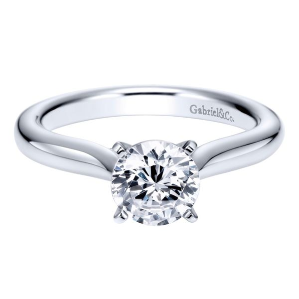Gabriel & Co. Solitaire Engagement Ring Padis Jewelry San Francisco, CA
