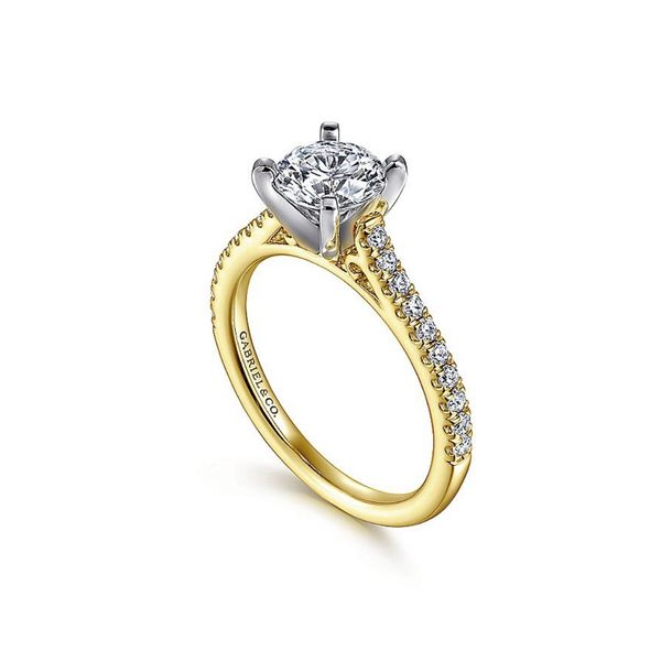 Gabriel & Co. Diamond Engagement Ring Padis Jewelry San Francisco, CA