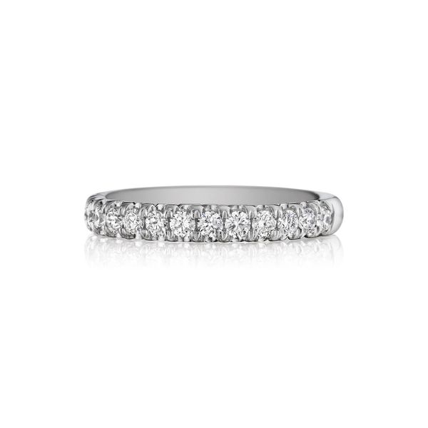 Henri Daussi Ladies' Pave' Wedding Band Padis Jewelry San Francisco, CA