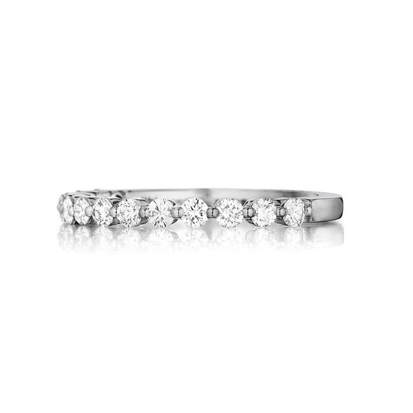 Henri Daussi Ladies' Single Prong Wedding Band Padis Jewelry San Francisco, CA