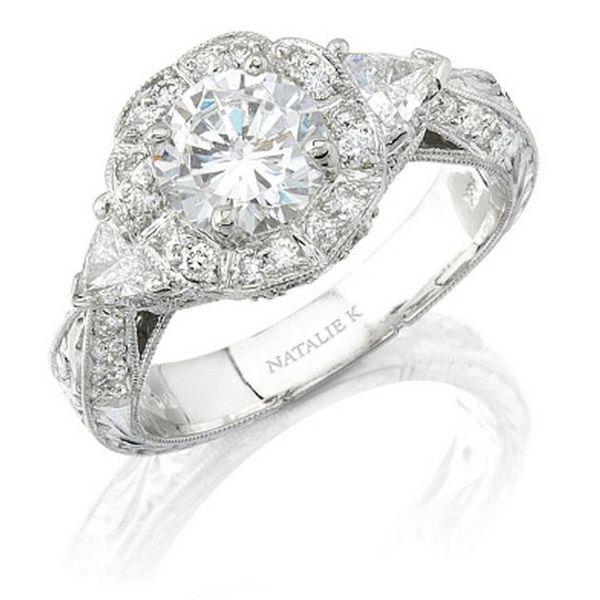 Natalie K Diamond Ring