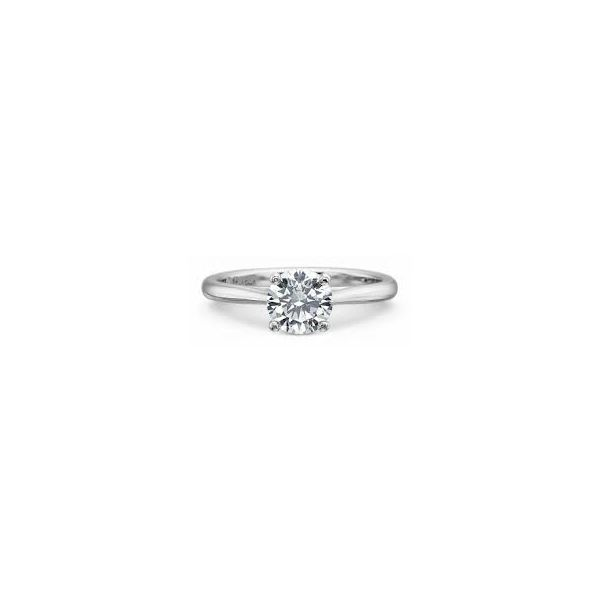 Precision Set Solitaire Diamond Ring Padis Jewelry San Francisco, CA