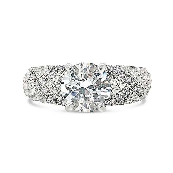 Michael Bondanza Diamond Engagement Ring Padis Jewelry San Francisco, CA