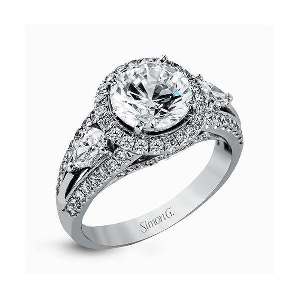Simon G. Diamond Ring Padis Jewelry San Francisco, CA