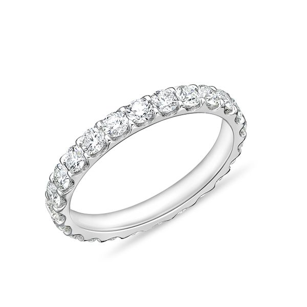 Memoire Ladies' Wedding Band Image 2 Padis Jewelry San Francisco, CA