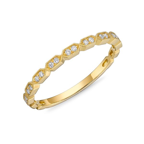 Memoire Diamond Stackable Band Image 2 Padis Jewelry San Francisco, CA