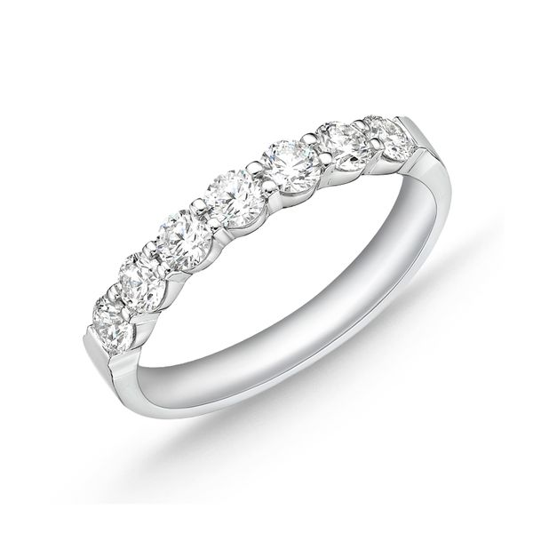 Memoire Diamond Wedding Band Image 2 Padis Jewelry San Francisco, CA