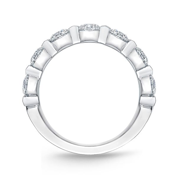 Memoire Diamond Wedding Band Image 3 Padis Jewelry San Francisco, CA